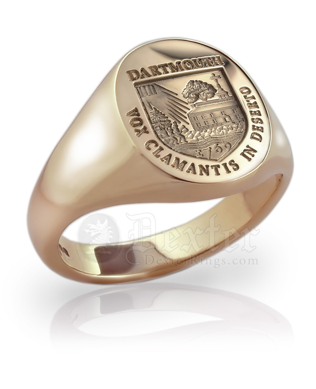 School or College Signet Ring