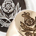 Military Intelligence Corps Signet Ring