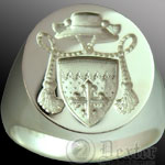 Bespoke Clerical Seal Ring
