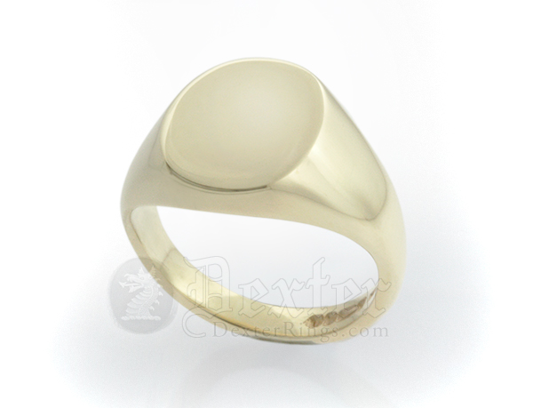 Oval Ring (12x10mm Face)
