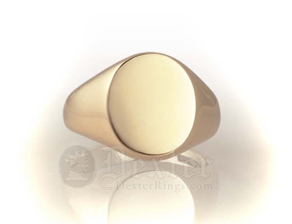 Oval Ring (14x12mm Face)