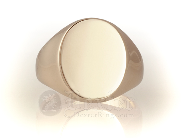 Oval Ring (16x13mm Face)