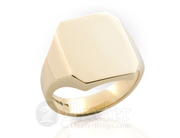 Octagonal Ring (18x15mm Face)