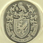 Wax Impression of the Coat of Arms with Owl Crest